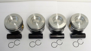 4x Piston Piston Ring VW t5 t6 2.0 TDI CFC CFCA CAA CAAA STD 03l107065ad