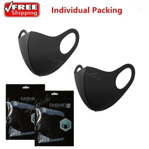 US Stock! UPS 24 Hours Shipping! Anti Dust Face Mouth Cover PM2.5 Mask Respirator Dustproof Anti-bacterial Washable Reusable FY9041