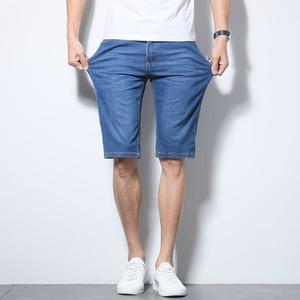 Anbican 2019 Sommer Leichte Denim Shorts Männer knielangen Männer beiläufige Jeans Shorts