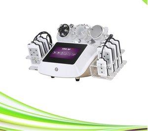 Kavitasyon diyot lazer lipo zayıflama makinesi sıkma 1 soğuk lipo lazer ışığı deriye içerisinde 6