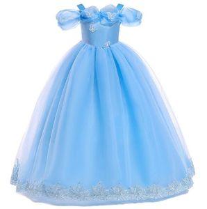 Adolescente Sling Falda larga Samgami bebé Verano Niña Niño Fiesta de boda Princesa Cosplay Vestido Mariposa Paillette Cenicienta Vestido XF29