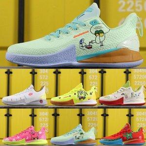 2020 Новое прибытие дети мальчик Mens Mamba обувь TV PE Баскетбольная обувь для дешевых 20-й годовщины Spongess V Пять спортивных тапок