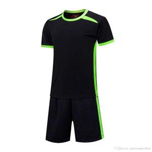 2020 Siyah En Son Erkekler Futbol Formalar Sıcak Satış Kapalı Tekstil Futbol Giyim Yüksek Kaliteli SS