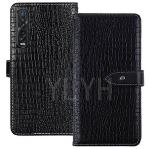 YLYH TPU Silicone Protection Premium Leather Rubber Gel Cover Phone Case For OPPO Find X X2 R17 Reno 3 Pro K3 Pouch Shell Wallet Etui Skin