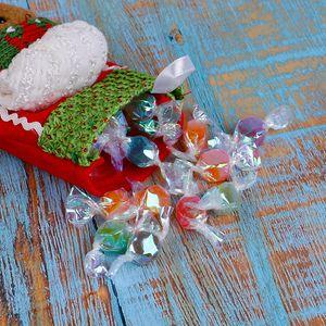 Natal bonito doces caixa de armazenamento Jar garrafa titulares Gingerbread Man Xmas Stockings Início decoração do presente