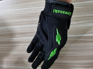 KTM Motorcycle gloves PU Leater moto Cycling OFF-road vehicle bike gloves hight quality Rider Protector anti - fall gloves 006