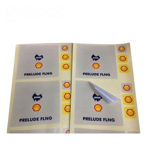 OEM Toptan PVC Özel Etiketler Çevre dostu Vinil Kendinden yapışkanlı su geçirmez Baskı Sticker Sac Paket Food For Etiketleri