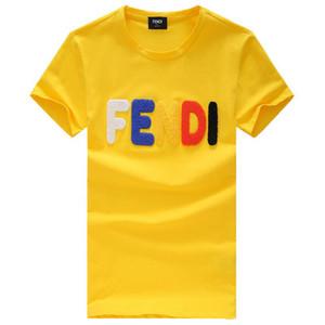 ee d'été T-shirts pour hommes Lettre T-shirt d'impression pour hommes Vêtements de marque à manches courtes T-shirt Femmes Hauts Medusa de haute qualité