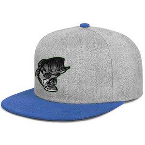 Bass Pro Shop fishing gray logo Unisex Flat Brim Baseball Cap Plain Youth Trucker Hats black Gay pride rainbow 3D USA flag White bottom