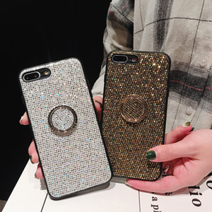 Custodia in silicone con glitter per Samsung Galaxy S8 Plus Custodia in silicone con cover S9 per Samsung Note 9 8 S9 Plus Luxury con retro lucido