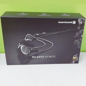 새로운 뜨거운 Beyerdynamic XELENTO REMOTE Audiophile 이어폰 헤드폰 빠른 시작 가이드 소매 상자 2019로 헤드셋