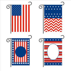 Donald Trump Garden Flag oxford stoffa lettera Keep America grande USA Star americano a strisce bandiere Banner