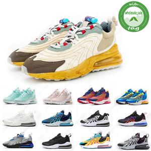 Nike Air Max 270 React Eng 27C üçlü siyah atletizm açık erkek eğitmenler spor ayakkabısı rayları womens ayakkabı lazer mavi bauhuas çalışan ENG erkekler kadınlara tepki