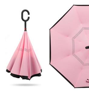 Зонтик зонтика зонтика прямой адвокатское сословие зонт корабля двойн-палубы обратный во избежание держать солнечный зонтик