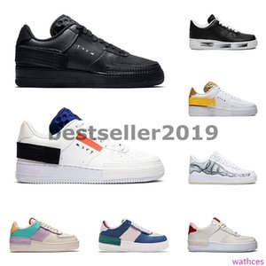 2020 mens women running shoes 1 type shadow Para-noise black Summit White Mystic Navy Pale Ivory zapatos trainer fashion sports sneakers