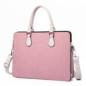 Стильная сумка для ноутбука для женщин 15,6 15 14 13,3 13 дюймовых высокого качества PU кожаный ноутбук компьютерных сумок 2020 K1250G