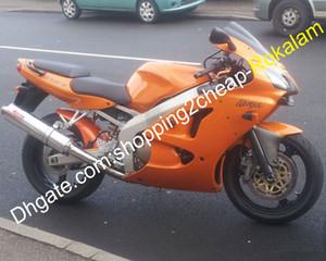 Per Kawasaki Motorcycle Ninja ZX6R ZX 6R 636 ZX6R 00 01 02 ZX636 ZX636 2000 2001 2002 Arancione carenatura Set (iniezione)
