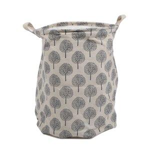Große Eimer Kordelzug Strahl-Port schmutzige Kleidung Wäschekorb Faltbare Spielzeug-Speicher-Organisator Haushalt Kunterbunt Bag