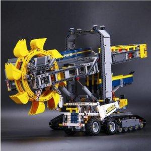 20015 3929pcs Technic benna escavatore gommato elementari stabilite Compatibile con Lepin 42055 Giocattoli