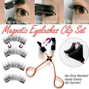 Kein Kleber Need Easy Apply Wimpern Werkzeuge wiederverwendbare Doppelmagneten Handgemachte Wimpern neue Entwurfs-Magnet-Wimpern-Applikator Clip