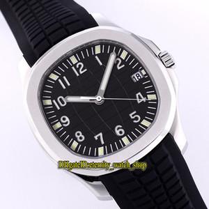 PF Top versão Aquanaut 5167A-001 Preto Dial Miyota 9015 Reequipamento Cal.324 SC Automático 5167A Mens Watch Sapphire Vidro Caso de Aço Esporte Relógios
