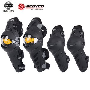 SCOYCO Motorcycle kneepad Protector Elbow Protect Equipment Motocross Racing Motor Protection Sliders Riding Kneepads Protective