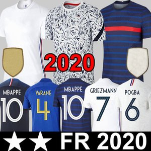 2020 Mbappe Pogba Fußball-Trikot 2020 Euro Griezmann Varane HERNANDEZ Kinder Kit Frauen-Fußball-Hemd THAUVIN Matuidi PAVARD maillot de foot