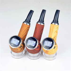 Los mejores vaporizadores de hierba seca 2019 Anlerr pipe vape mod hierba seca vape control de temperatura kit de inicio de calefacción de cerámica vape