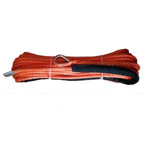 10 mm x 28m sentetik vinç halatı, off-road ATV utv için UHMWPE halat