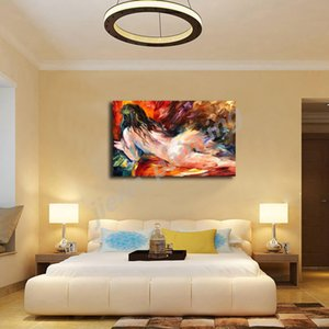 Pinturas de mujeres desnudas desnudo Figura Sueños lienzo Impresión de la pintura al óleo del arte dormitorio hogar de la pared de la decoración moderna de la pintura del cartel ilustraciones