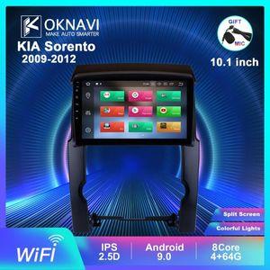 OKNAVI 2 Din IPS Android 9.0 Stereo Head Radio Player For KIA Sorento 2009-2012 GPS Navigation 4g Radio DSP No DVD bt car dvd