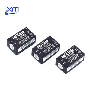 Freeshipping 10PCS HLK-PM01 HLK-PM03 HLK-PM12 AC-DC 220V to 5V 3.3V 12V mini power supply module,intelligent household switch power module