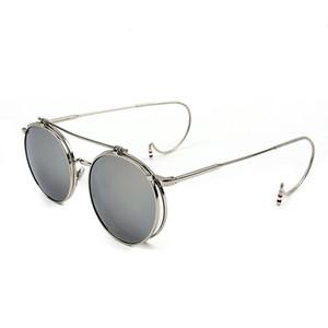 clip on sunglasses men steampunk women fashion glasses vintage retro fashion sunglasses uv400 des lunettes de soleil