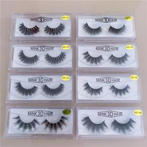 15style 3d Mink Hair Fake Eyelash mink HAIR false eyelashes natural Extension fake Eyelashes false lashes DHl free