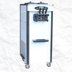 New vertical stainless steel ice cream machine manufacturers soft ice cream machine 3 flavors of ice cream making machine