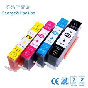 4 ADET Mürekkep Kartuşları 655XL HP655 Için Uyumlu HP 655 655XL HP Deskjet 3525 4615 4625 5525 6520 6525 6625 Yazıcı