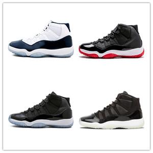 NIKE Air Jordan 11 Retro Новые 11 Low GG Наследница Frost White Blue змеиной бароны женщин мужские баскетбольные кроссовки кроссовки Дешевые 11S баскетбол Спортивная обувь CB30