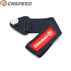 CNSPEED Remolque Cuerda Remolque de nylon de alta resistencia Herramienta Racing Universal Tow Eye Strap Correa de remolque Tope Remolque Remolque de cuerda