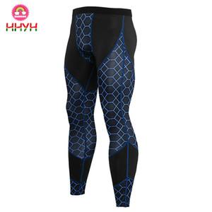 Calças Quick Dry Sports compressão Homens aptidão justas Yoga Pants Exercício calças compridas corredor da ginástica magro das calças Leggins Hombre