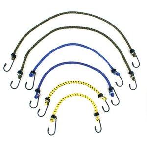 6 Pezzi Nuovo Bungee Cord Hook casa Deposito auto esterno della bici della corda elastica