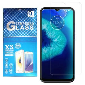 Para Motorola Moto G8 Power Lite G8 Play One 5G Fusion Plus Newest Borde Tempered Glass Protector de pantalla difícil con paquete de venta al por menor Precio bajo