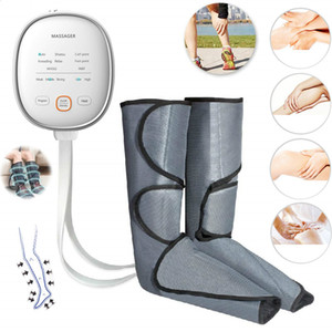 Leg Air Compression Massager aquecida para Pé e vitela Circulation com Handheld Controlador 3 intensidades 2 Modos de 2 Temperaturas