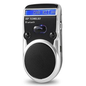 Voiture pare-soleil MP3 Bluetooth mains libres Écran LCD Anglais Chinois Prononciation Conseils