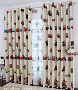 Junge Autos Vorhang und Tüll Blackout Vorhänge Tuch Nursery Baby-Raum Vorhänge Draperie Französisch Vorhänge für Kinder Erkerfenster