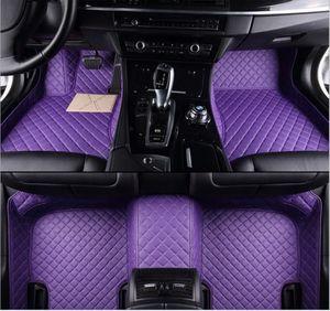 Pour Honda SPIRIOR 2009-2017 Tapis de sol pour voiture Imperméable luxe personnalisé tapis de sol imperméables en cuir PU Tout-Temps Imperméable À l'eau