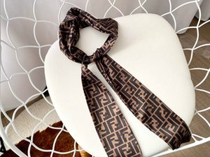 Retro Brown Printed Letter Fashion Hair Sticks Girl Headbands 2020 New Style Head Ribbons For Luxurious Style Designs