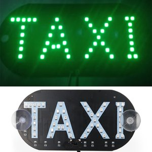 1pcs 12V LED Taxi Led Car Windscreen Cab Indicator Lamp Sign Blue Windshield Taxi Light Lamp For Taxi Cab Service Super Bright