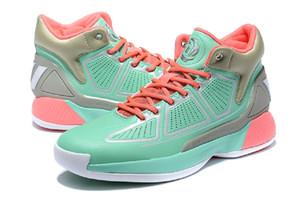D Rose 10 sapatos Boardwalk para venda com caixa BSET Derrick Rose 10 homens mulheres Basketball sapato atacado US7-US11.5