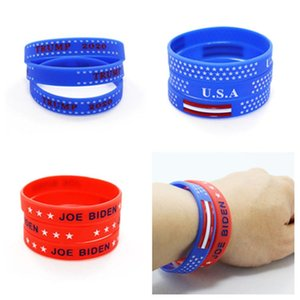 Biden Bracelet American 2020 Election Silicone Bracelet USA Flag Band Wristband Trump Bracelet ring party favor T2I51010