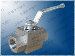 316L female thread high pressure ball valve